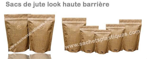 sacs de jute look haute barrière